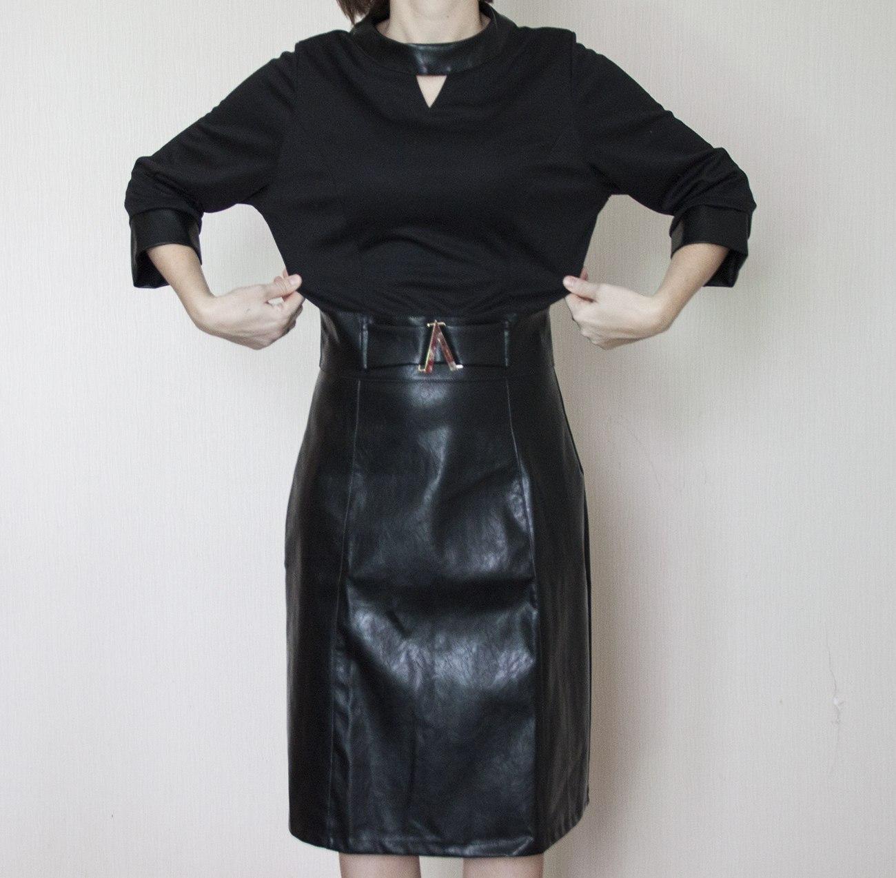 Маленькое черное платье от Natasha moda+пристрой