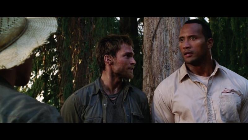«Уж лучше пялиться с гориллой»Драка с повстанцами.Эпизод - 1 к ф Сокровища Амазонки(2003)