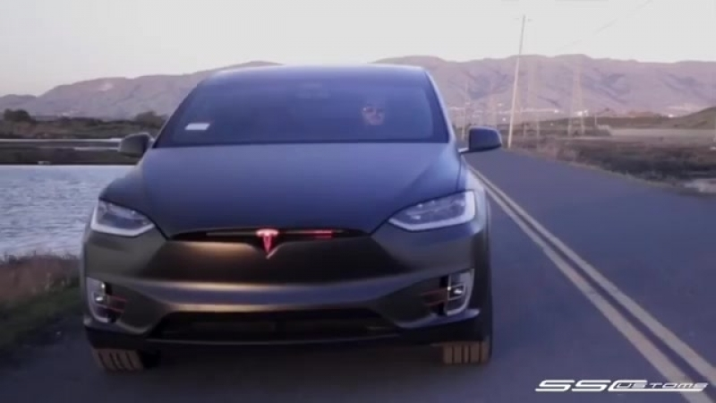 Tesla Model X Knight Rider