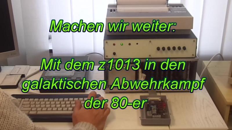 8-bit Mikrorechnerbausatz ROBOTRON Z1013 aus den 80-ern mit U880 (Z80) CPU