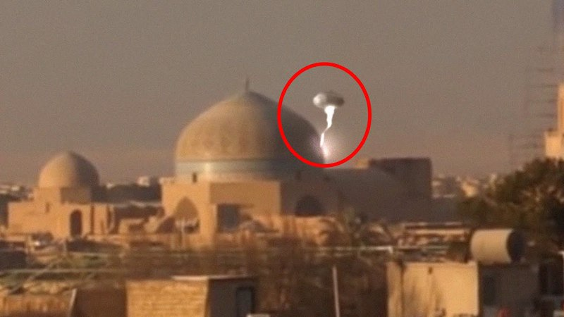 Unbelievable UFO Captured From Syria !! Real UFO Footage 2018