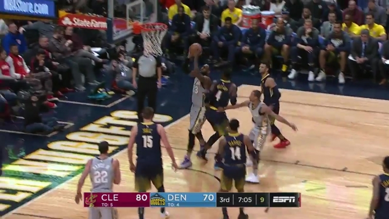 LeBron James Comes Up CLUTCH in the Mile High City