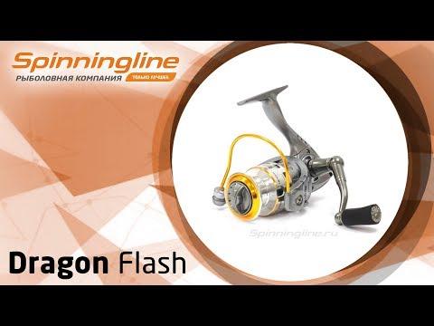 Безынерционная катушка Dragon Flash