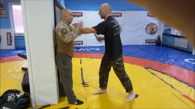 MMA*RAPT*Tactical self defense. - часть 2. Нож.