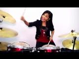 The Eagles --- Hotel California --- Drum Cover by Nur Amira Syahira