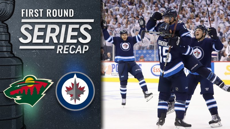 Jets defeat Wild in five games to advance to Second Round