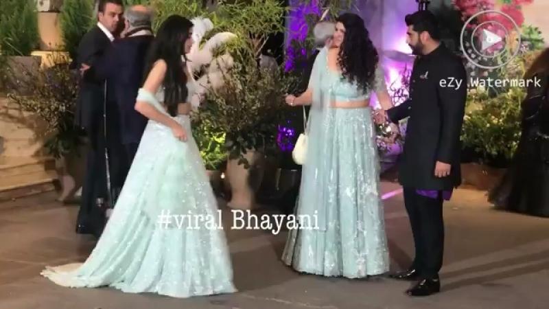 Семья Капур на вечеринке свадебной Ананда и Сонам