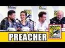 PREACHER Comic Con Panel (Part 1) - Dominic Cooper, Ruth Negga, Joseph Gilgun, Seth Rogen