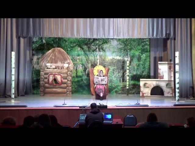 спектакль Ну, волк, погоди! детский состав Народного театра Сувенир, город Ефр ...