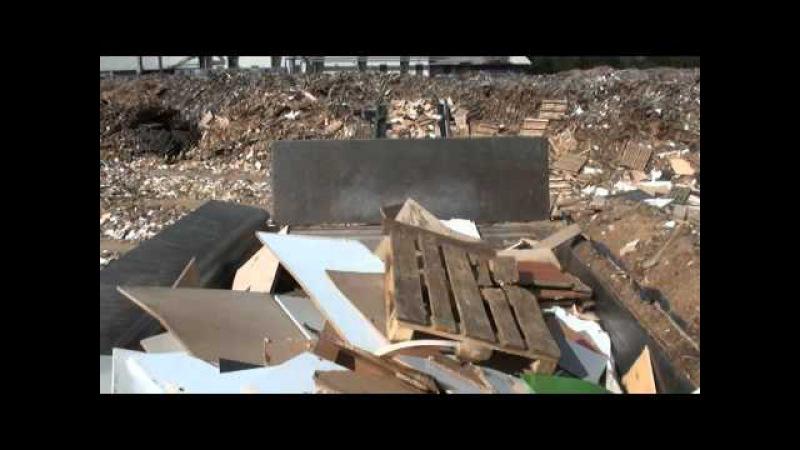 Metso Denmark MJ 6000-12 Mobile Shredder Wood Waste Shredding