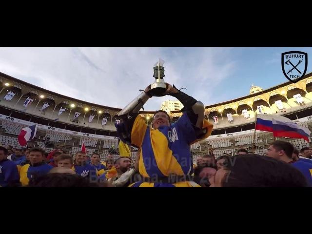 Buhurt Tech TV - What is Buhurt? (Battle Of The Nations, Ukraine highlights)