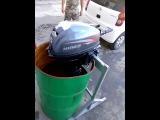 Блиц обзор: лодочный мотор HIDEA 15