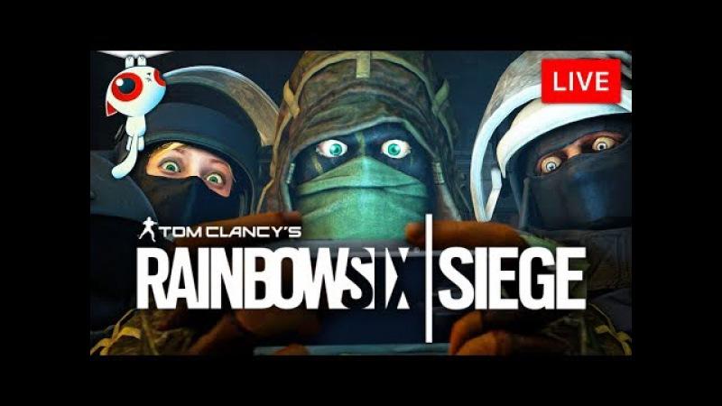 КАК ВСЕ БЫСТРО! • Rainbow Six Siege - Шиморо, Следователь и Хинн на стриме у Нофекс