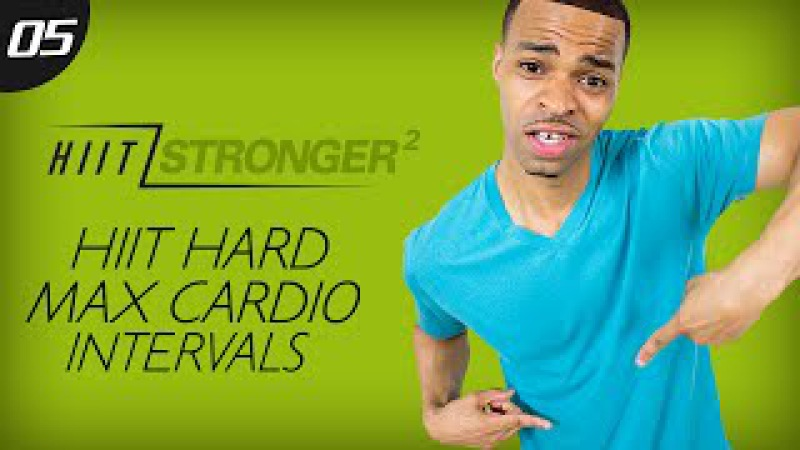 35 Min HIIT MAX Cardio Intervals HIIT STRONGER 02 Day 05