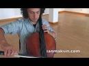 Ian Maksin CARUSO solo cello version - Lucio Dalla, Pavarotti, Bocelli