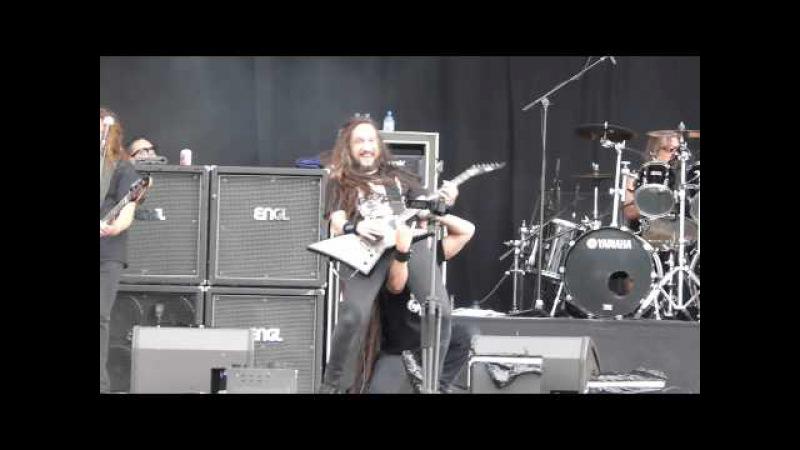 Exodus Mark Osegueda - Death Angel - Bonded By Blood @ Alcatraz Metal Festival 2013