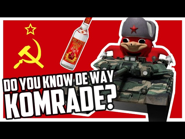 DO YOU KNOW DE WEY, COMRADE? KNOCK KNOCK — (UGANDA KNUCKLES) — VRChat