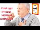 ★ЛЕЧЕНИЕ СОДОЙ простудных заболеваний ПО НЕУМЫВАКИНУ. Заложенность носа.Cмягче...