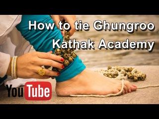 How to tie Ghungroos