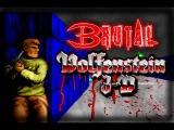 Brutal Wolfenstein 3D v5 0 (PC) - Gameplay with download link