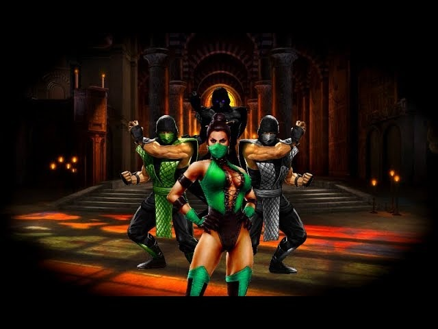 Mortal Kombat 9 (PC) - Classic Hidden Playable Characters Gameplay