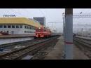 ЭП2К-082 с фирменным скорым поездом 109/110 Дневной экспресс Пенза - Самара