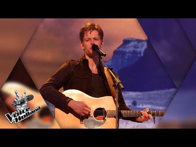 Jim van der Zee – I'm On Fire | The voice of Holland | The Liveshows | Seizoen 8