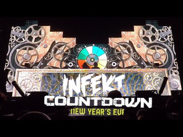 INFEKT Full Live Set | Countdown NYE 2017