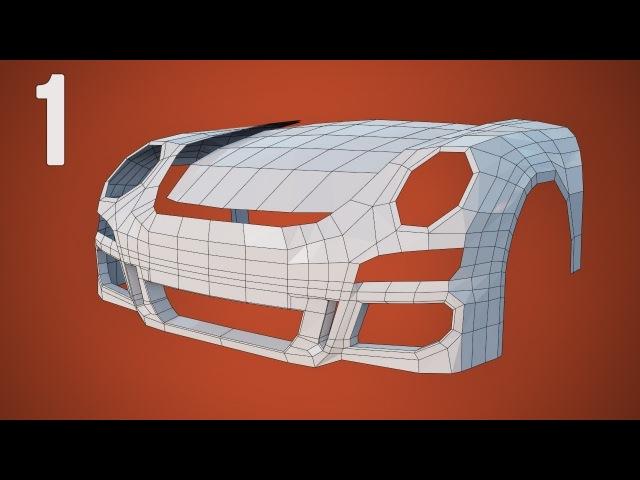 CGC Classic Modeling a Porsche Pt 1 Hood Bumper and Fenders Blender 2 4