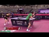 Xu Xin vs Tiago Apolonia (Qatar Open 2018)