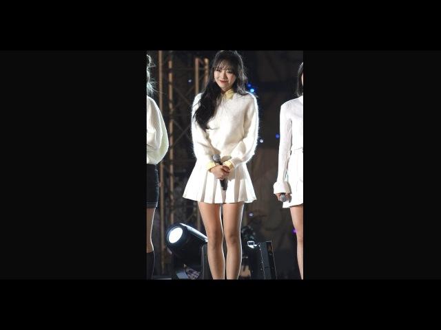 20171216 러블리즈 첫눈 류수정☆12월의 노란 크리스마스 선물 Lovelyz First Snow Ryu Su Jeong
