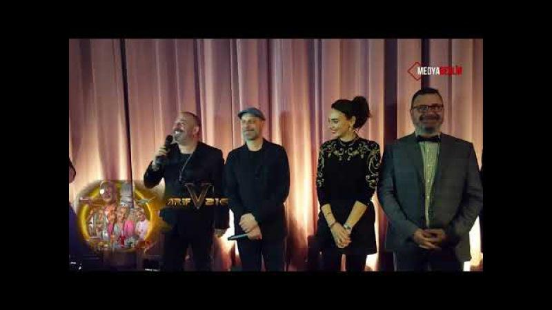 Cem Yılmazın ARİF v 216 Film Galası Berlin.