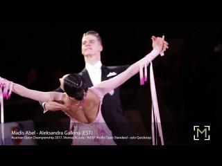 Madis Abel - Aleksandra Galkina, EST   AOC 2017 - WDSF WO STD - solo Q