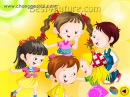 Chinese children's song: Looking for friends
