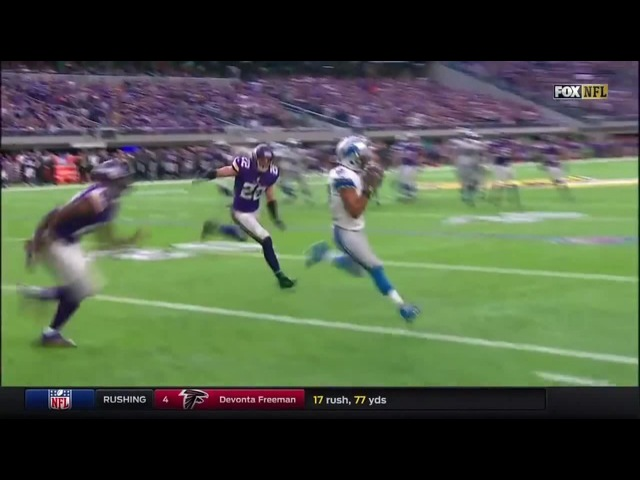 Golden Tate Clowns Vikings Wins Game In O.T.