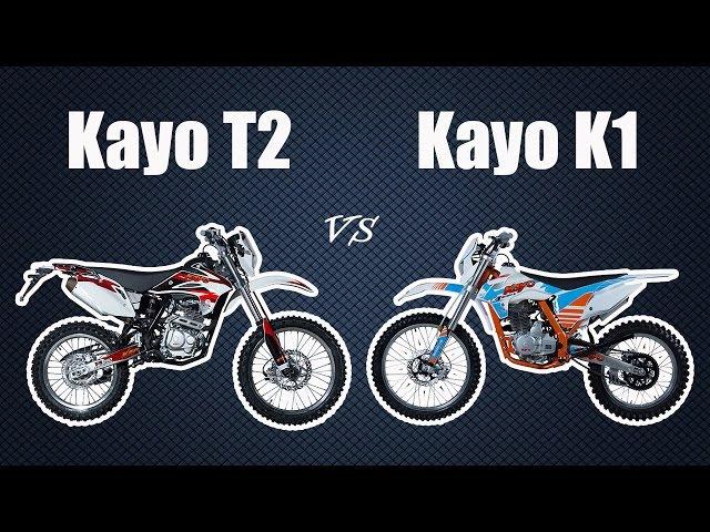 Kayo K1 vs Kayo T2. Мнение о эндуро мотоцикле Кайо Т2 после 3-х лет и новом Кайо К1 [Moto Life]