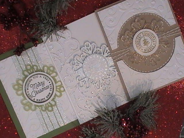 Countdown 2 Christmas Series 2017 Hero Arts Holiday Badges Snowflake Tag C CT