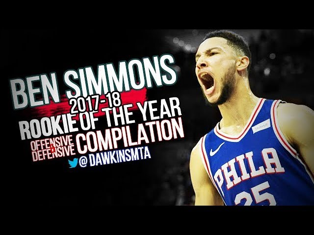 Ben Simmons 2017-18 Rookie Of The Year Compilation Part1- LeBen Simmons!