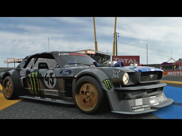 Forza Motorsport 7 - Hoonigan Ford Hoonicorn Mustang 1965 - Test Drive Gameplay (HD) [1080p60FPS]