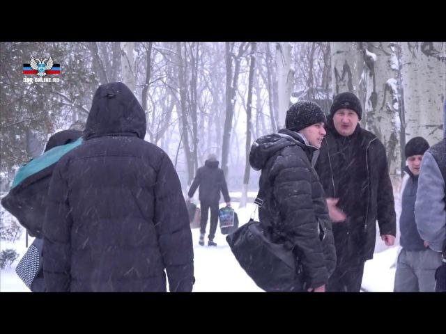 Освобожденных из украинского плена лиц расселили в общежития Республики