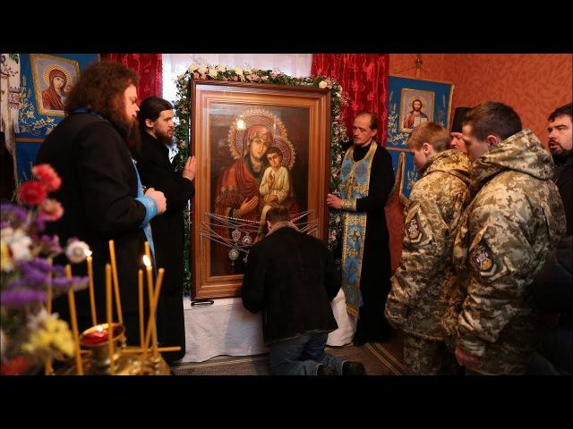Святогорская икона в храме равноап.Марии Магдалины с. Бадовка 29.12.17г.