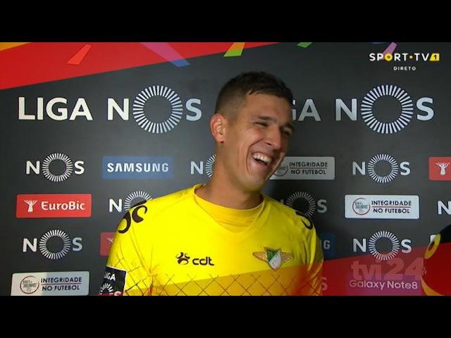 Guarda-redes do Moreirense não sabia o resultado do jogo