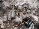 ZONDER Трофеи времен ВОВ Коп немецкого блиндажа 10 excavations of the German dugout WW2