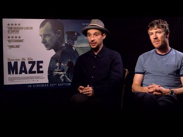 Maze Interview with Tom Vaughan-Lawlor and Barry Ward | RTÉ Entertainment