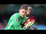 Sadio Mane was sent off for sickening boot to Ederson's head