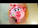 Торт Нюша / Сake Nyusha - Я - ТОРТодел!