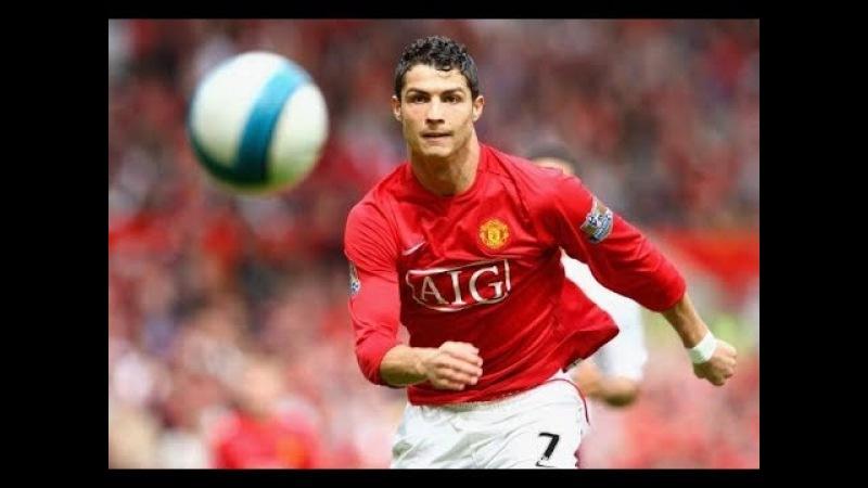 The Legendary Speed Of Cristiano Ronaldo Manchester United
