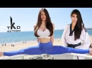 Girls Taekwondo kicks training Fantastic Girls Taekwondo skills