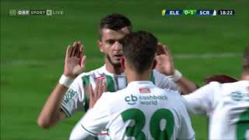 ÖFB Uniqa Cup 2017/18 - 2.Runde - ASK Elektra vs. SK Rapid 0:4 (0:1)