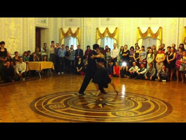 Sebastian Arce Mariana Montes - Nizhni Novgorod Russia 4.02.2012 (1/4)